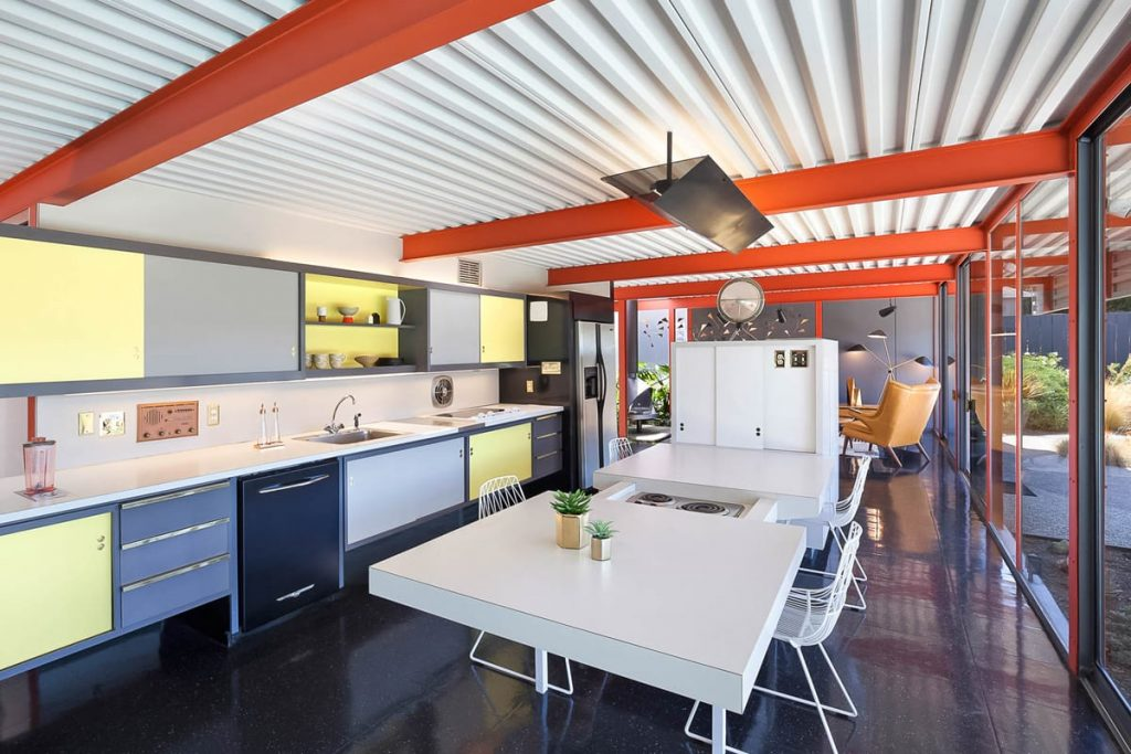 Steel X-100 experimental Eichler renovation -