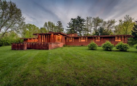 frank lloyd wright - papas house