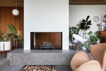 midcentury home in iceland