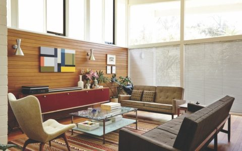 Grutzner House - Beaumaris Australia - living room