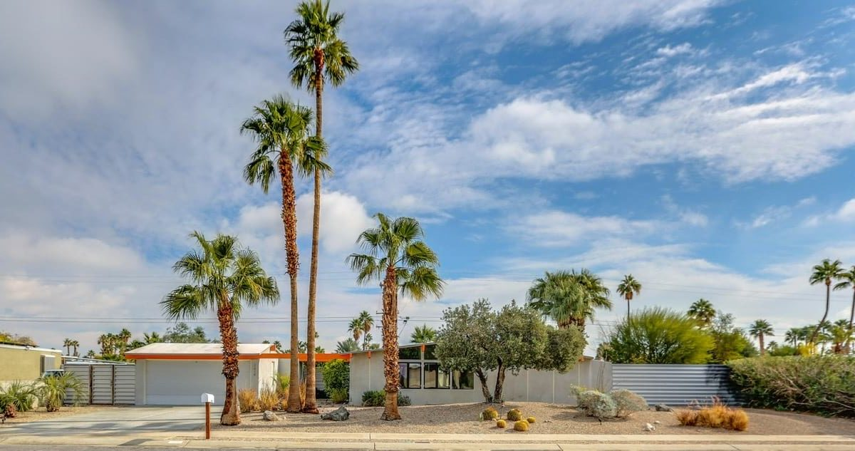 William Krisel Home Palm Springs