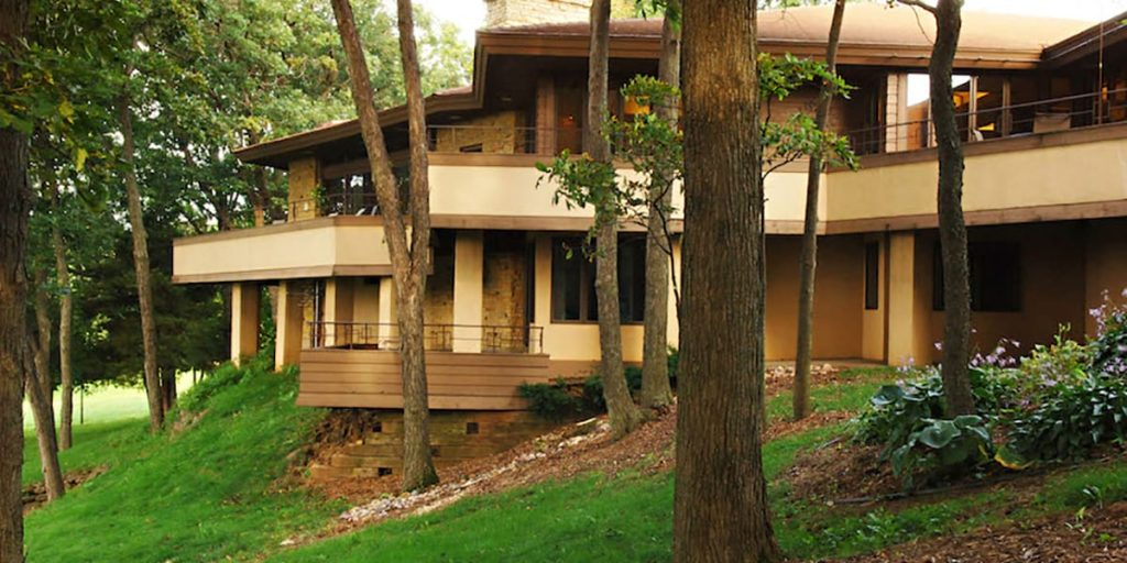 Frank Lloyd Wright Style Mid-Century Ranch on Sale -
