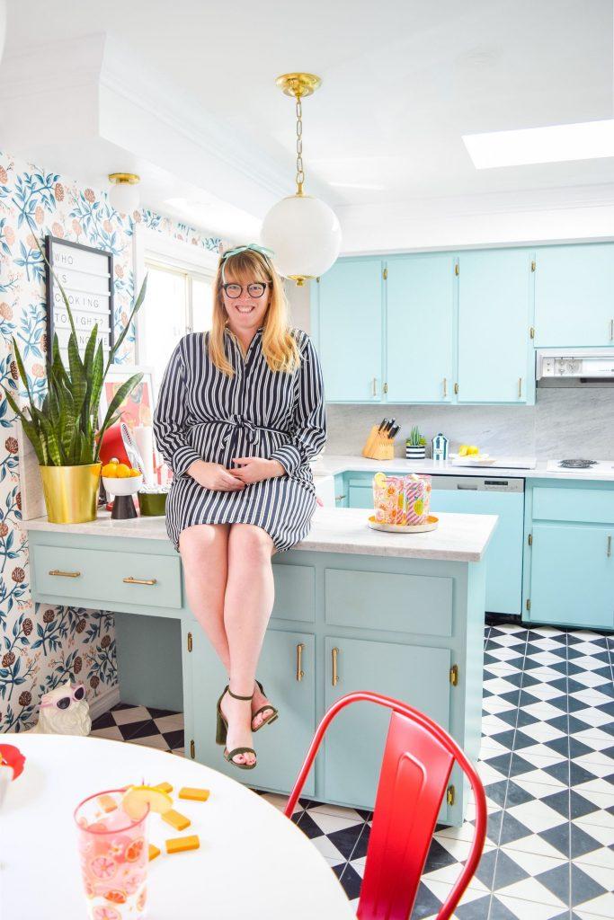 Ariel Garneau's Midcentury Kitchen