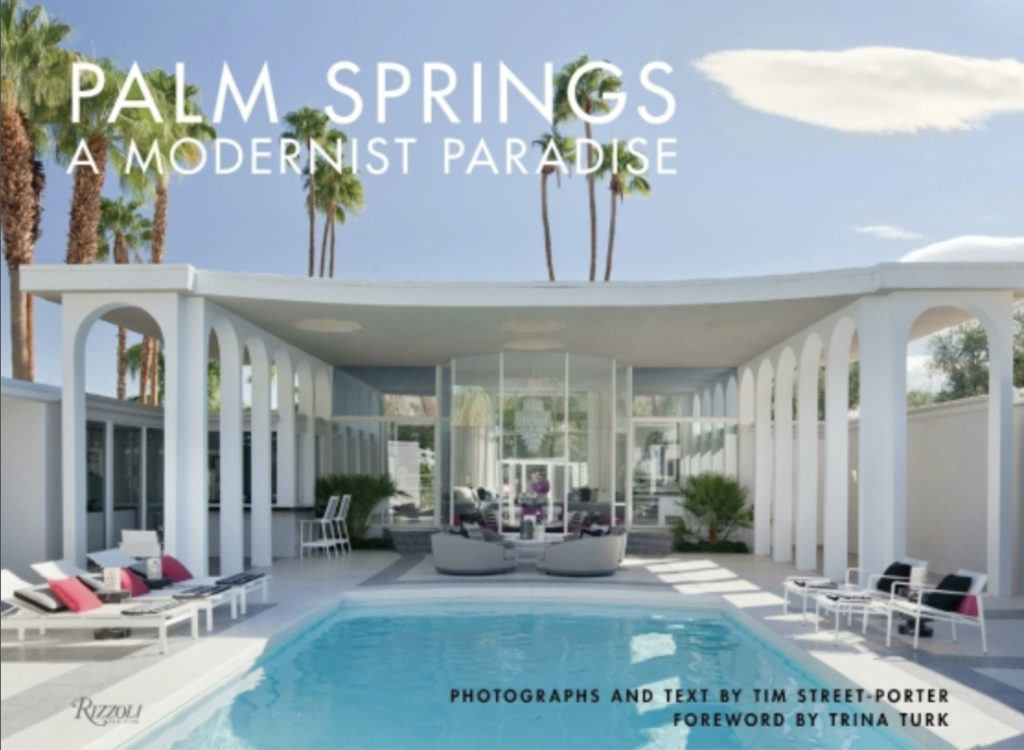 Palm Springs modernist paradise - book cover
