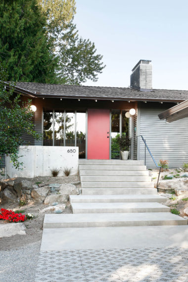 Bridle Trails midcentury home