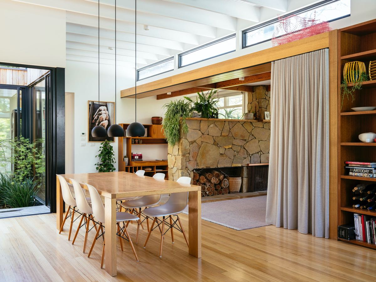 Iconic Midcentury Turned Into a Sleek Family Home